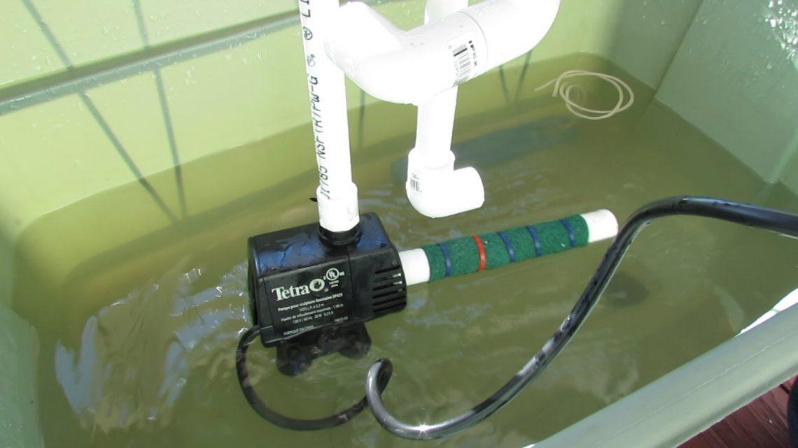 Comment fonctionne une pompe à eau?
