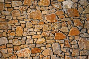 Ravalement de façade imitation pierre